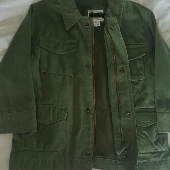 The Children's Place Other - Children' Place Army Green Boys Jacket